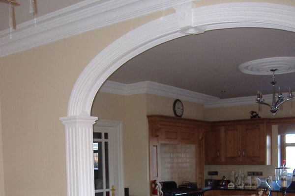 Stapleton mouldings decorative plasterwork coving and for Decorative archway mouldings